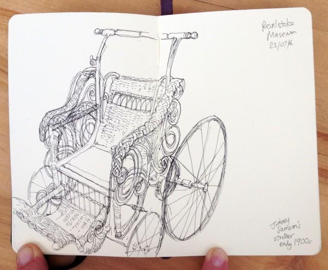 Jimmy Samson's stroller 25.07.16