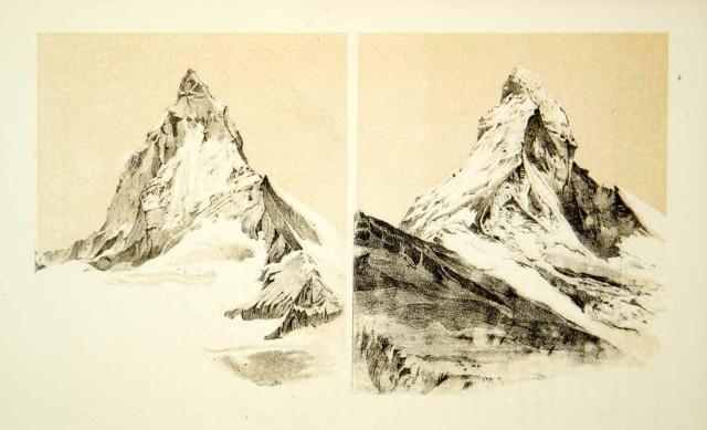 John Ruskin mountain peaks