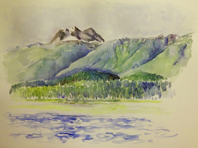 Mt Begbie 6am v2 7.08.16