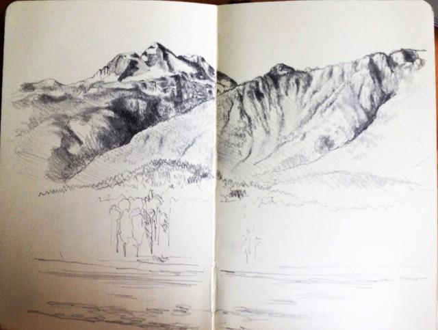 Mt Begbie and Mt Macpherson 6.08.16