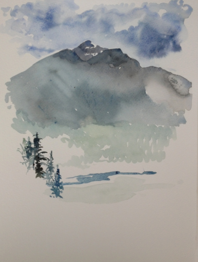 Mt Macpherson from Mt Mackenzie 7.08.16