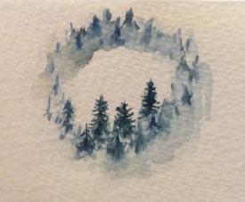 misty circle